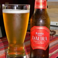 Review of Estrella Damm Daura Lager