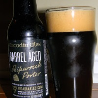 Review of Arcadia Ales Barrel Aged Shipwreck Porter