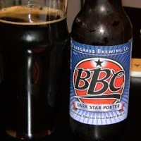 Review of Bluegrass Brewing Company Dark Star Porter