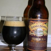 Review of Sierra Nevada 30th Anniversary Black Barleywine Ale