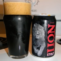 Review of Lion Stout
