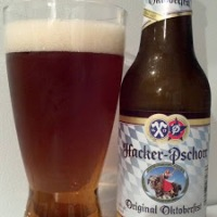 Review of Hacker-Pschorr Original Oktoberfest