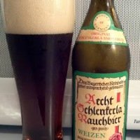 Review of Aecht Schlenkerla Rauchbier Weizen