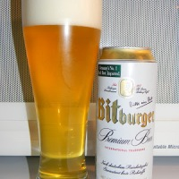 Review of Bitburger Premium Beer