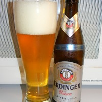"Review of Erdinger Weizen ""Crystal Clear"""
