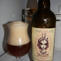Review of Jolly Pumpkin Baudelaire Bier iO Saison