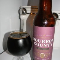 Review of Goose Island Bourbon County Bramble Rye Stout