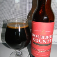 Review of Goose Island Bourbon County Brand Coffee Stout (2012)