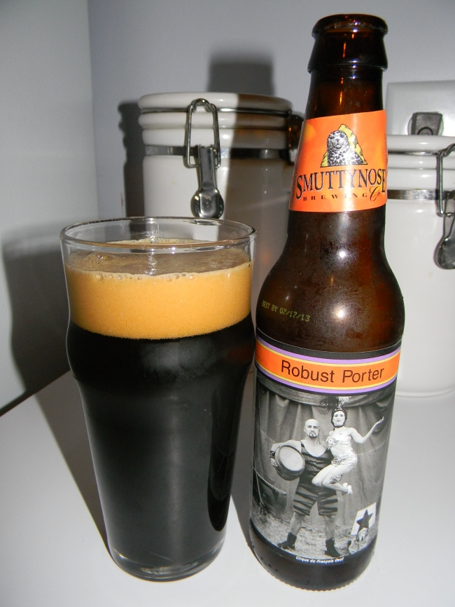 Review of Smuttynose Robust Porter
