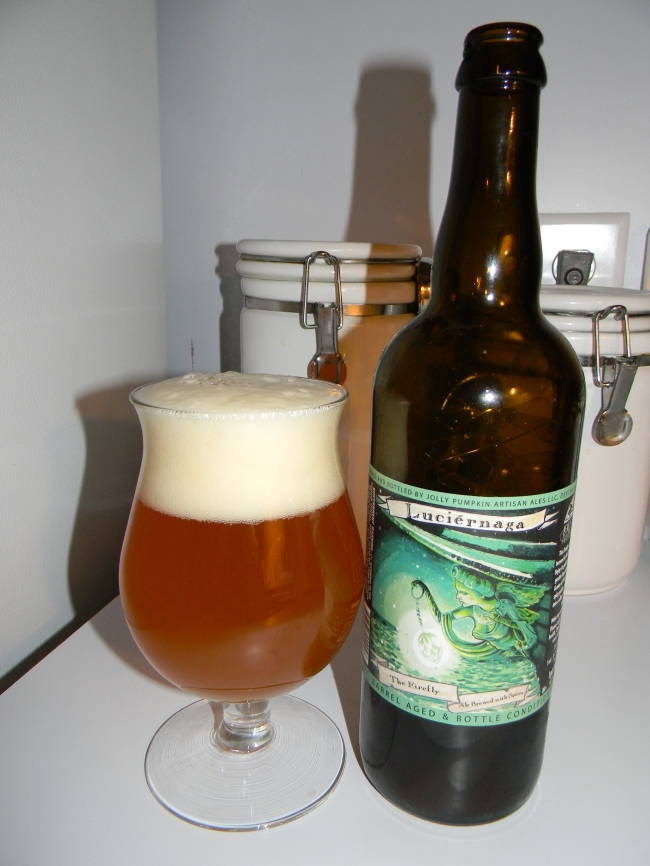 "Review of Jolly Pumpkin Luciérnaga ""The Firefly"""