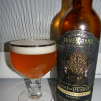 "Review of Ommegang Game Of Thrones ""Iron Throne"""