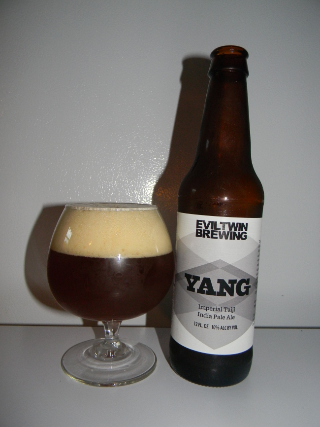 Review of Evil Twin Yang Imperial Taiji IPA