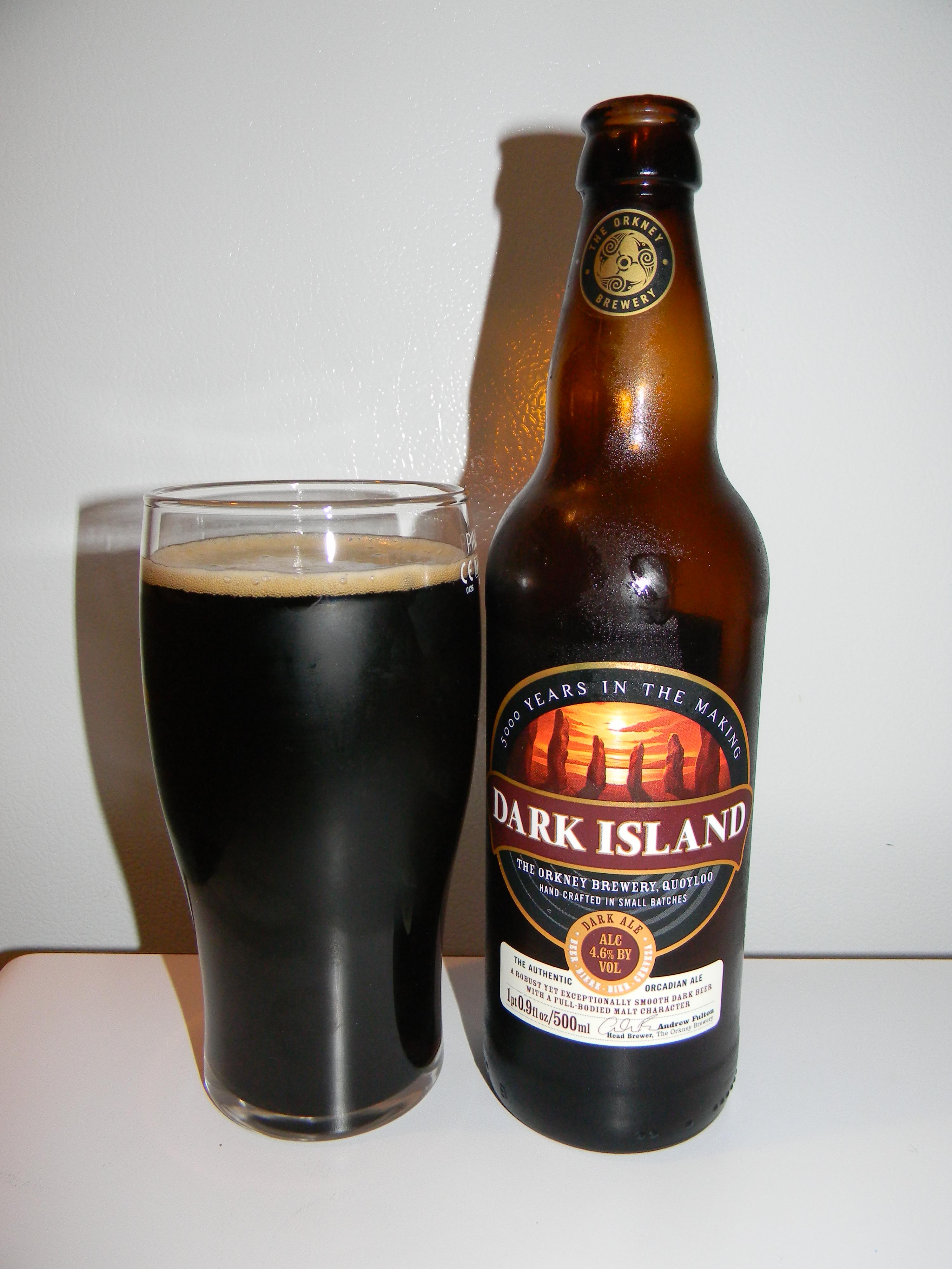 Orkney Brewery Dark Island birra recensione diario birroso blog birra artigianale