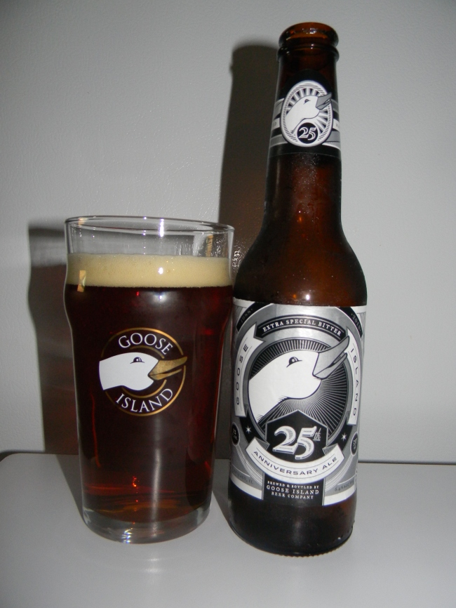 Review of Goose Island 25th Anniversary Ale