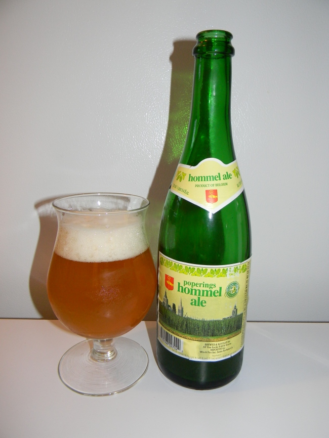 Review of Poperings Hommel Ale